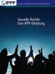Sexuelle Rechte: Eine IPPF-Erklärung - International Planned ...