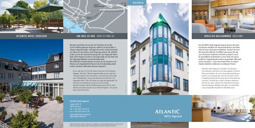 Hausprospekt im PDF-Format - ATLANTIC Hotels