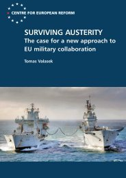 Surviving austerity: The case for a new approach to EU military ...