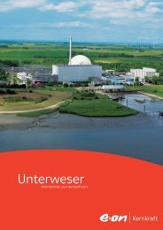 Unterweser - E.ON Kernkraft GmbH