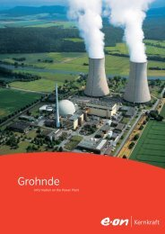 Grohnde - E.ON Kernkraft GmbH