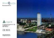Broschüre Weser Quartier - H. Siedentopf GmbH & Co. KG