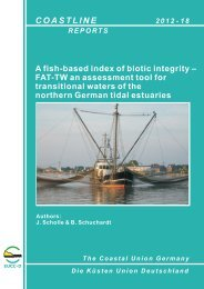 Coastline Reports 18 (2012) A fish-based index of biotic integrity