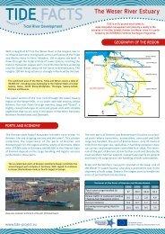 The Weser River Estuary TIDE FACTS - Interreg IVB North Sea ...