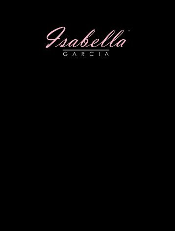 Download our Booklet (PDF) - Isabella Garcia