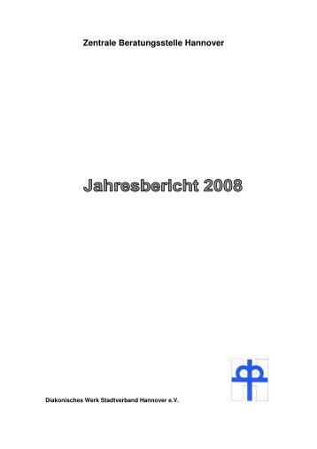 Jahresbericht ZBS 2008 - Diakonisches Werk Hannover