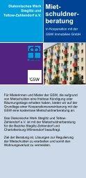 Miet- schuldner- beratung - beim Diakonischen Werk Steglitz und ...