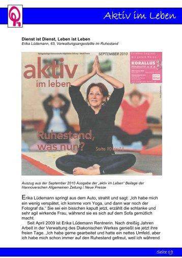 Aktiv im Leben - Diakonisches Werk Hannover