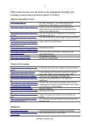 Elektronische bronnen voor de studie van de ... - De Tiltenberg