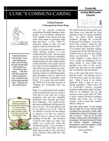 May_2012_Newsletter - Coralville United Methodist Church