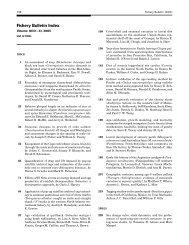 16 Index FISH BULL 103(4).indd - Fishery Bulletin