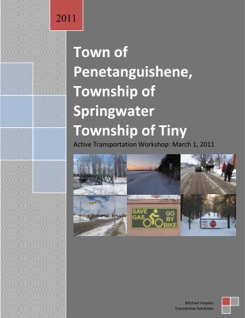 Town of Penetanguishene, Township of Springwater Township of Tiny