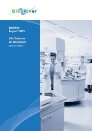 BioRiver Report 2009 Life Sciences im Rheinland