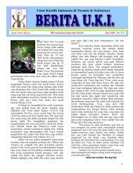 Berita UKI Edisi Juni 2009 - Umat Katolik Indonesia di Toronto