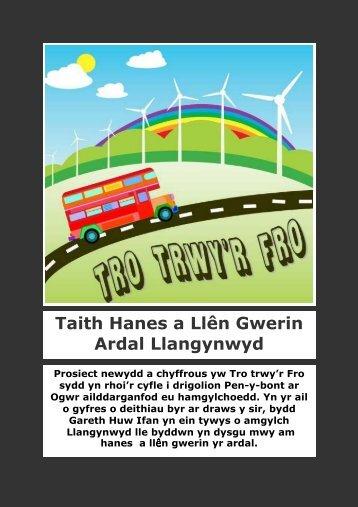Taith Hanes a - Menter Bro Ogwr