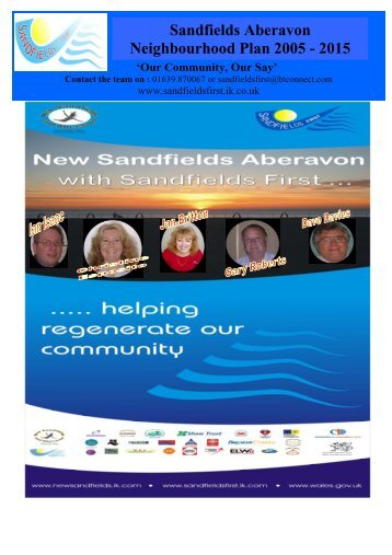 Sandfields and Aberavon Communities First Partnership Action Plan