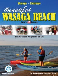 2012 Wasaga Beach Visitors Guide