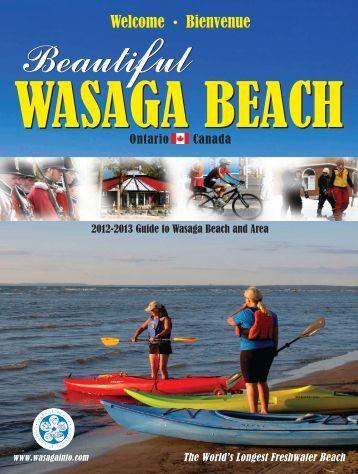 2012 Wasaga Beach Visitors Guide
