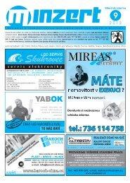 SERVIS KOTLŮ topidel a ohřívačů - M-INZERT