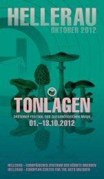 Programm oKToBer 2012 - Hellerau
