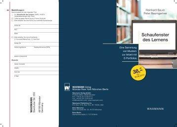 Schaufenster des Lernens - Peter Baumgartner