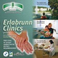 Clinics for Internal Medicine - Kliniken Erlabrunn gGmbH
