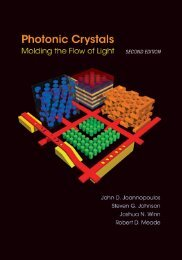 Photonic Crystals Molding the Flow of Light