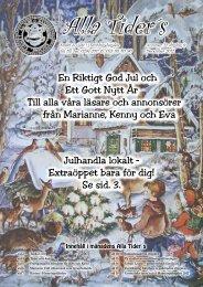 En Riktigt God Jul och Ett Gott Nytt År Till alla ... - Hamrångebygden