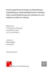 Protein-Ligand-Wechselwirkungen im Wirkstoffdesign: - Chemie ...