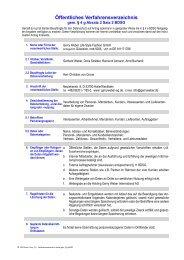 Verfahrensverzeichnis_Gerry Weber Life Style Fashion GmbH