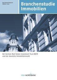 Der German Real Estate Investment Trust (REIT) - Hochbahnopfer