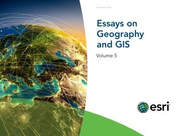 essays-on-geography-gis-vol5