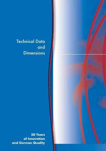 Technical Data and Dimensions
