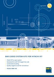 bar coded system kits for hitachi 917 - DiaSys Diagnostic Systems ...
