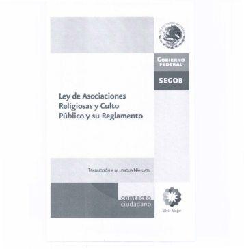 Ley de Asociaciones Religiosas y Culto