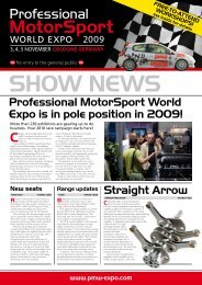 to download the Pre-Show News - Professional Motorsports World ...