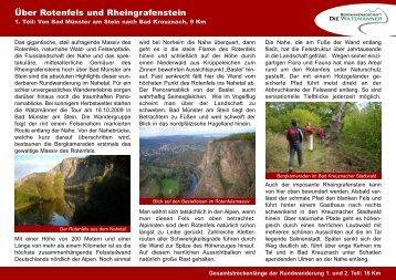 Über Rotenfels und Rheingrafenstein - Die Watzmänner aus Wehr