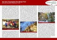Auf dem Traumpfad Vier-Berge-Tour - Die Watzmänner aus Wehr