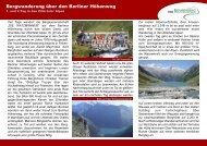 Berliner Höhenweg in den Zillertaler Alpen - Die Watzmänner aus ...