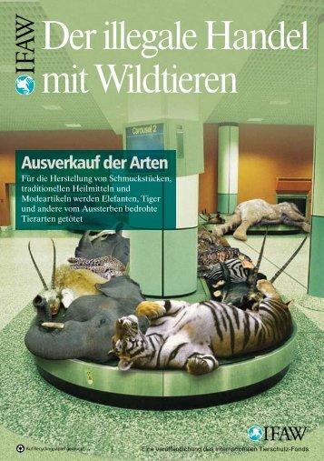 Der illegale Handel mit Wildtieren
