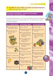 Caring for Your Baby birth to 6 Months - Health Service Executive