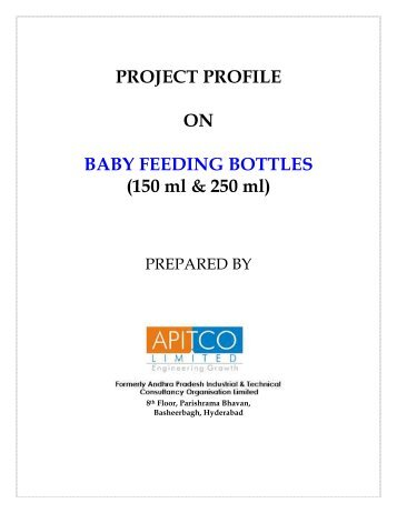 PROJECT PROFILE ON BABY FEEDING BOTTLES