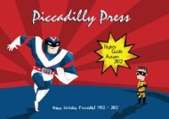 Piccadilly Press 30th Anniversary