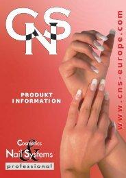 katalogliste.qxd (Page 1) - CNS - Cosmetics & Nail Systems