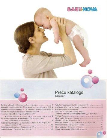 Baby-Nova Product Catalogue