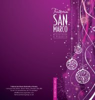 to download our Christmas Menu in - Trattoria San Marco