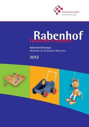 Katalog 2012 - LWV.Eingliederungshilfe GmbH