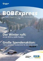 BOB-Zeitung _4-11_Layout 1 - Bayerische Oberlandbahn
