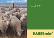 Katalog 2006/2007 - Kaiser Naturfellprodukte