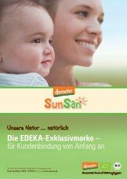 Die EDEKA-Exklusivmarke – für Kundenbindung ... - Ein Herz für Bio